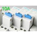 Disjoncteur 1P+N 2 Modules 10A