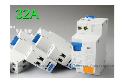 Disjoncteur 1P+N 2 Modules 32A