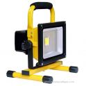 Projecteur de chantier LED 10W Rechargeable