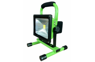 Projecteur de Chantier LED 20W Rechargeable
