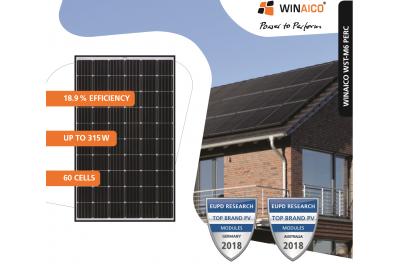 Panneau solaire WINAICO monocrystallin WST310M6